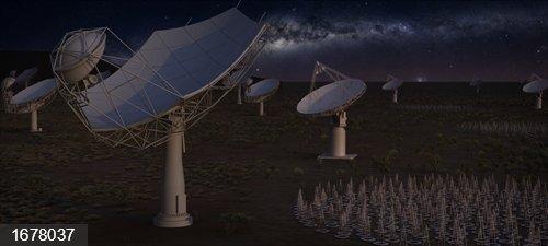 Incorporación de España al radiotelescopio SKA