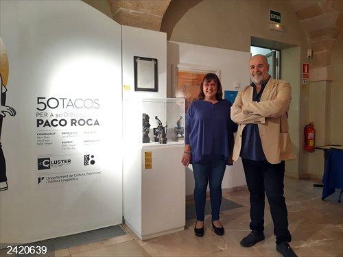 El Consell de Mallorca inaugura la muestra 'Paco Roca, 50 tacos' en el Centro Cultural la Misericordia de Palma