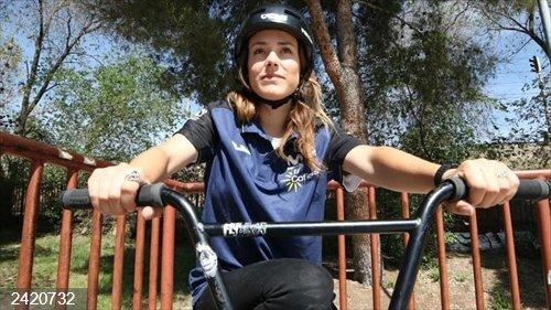 Ciclismo.- Teresa Fernández-Miranda compite en el Europeo de BMX Freestyle con la vista en Tokyo 2020
