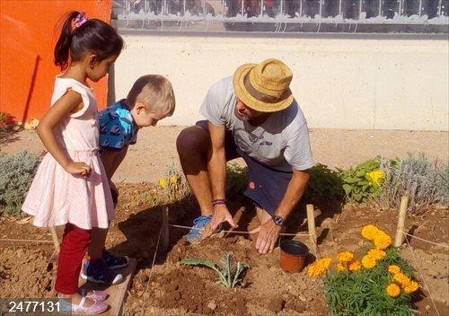 Valencia.-El colegio municipal de Benimaclet gana el segundo premio estatal del certamen de huertos ecológico educativos