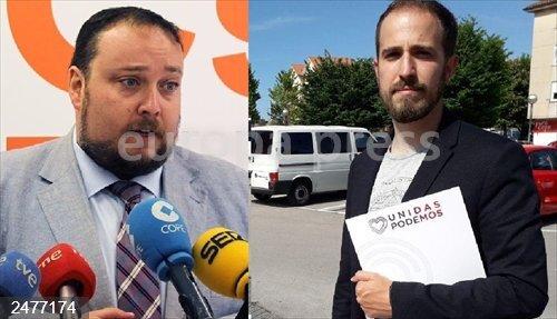 10N.- Rubén Gómez y Luis del Piñal, los candidatos al Congreso más madrugadores para ir a votar