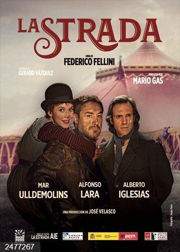 Mario Gas sube del 15 al 17 a las tablas del Calderón de Valladolid una adaptación de 'La Strada' de Fellini