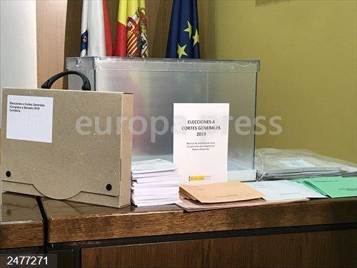10N.- Un total de 501.672 cántabros están llamados a votar en las elecciones de este domingo