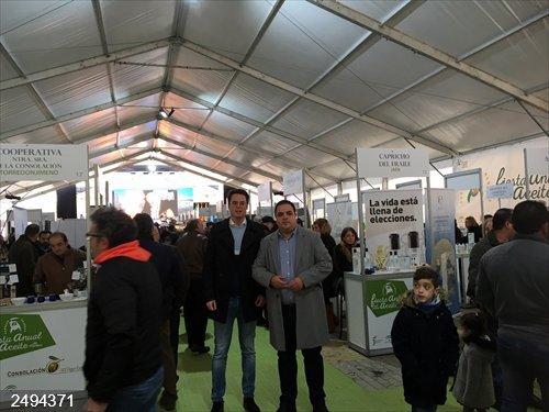 Jaén.-MásJaén.-La segunda jornada de VI Fiesta Anual del Primer Aceite de Jaén registra una elevada afluencia de público