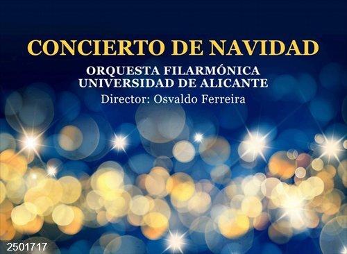 Cultura.- El concierto solidario del ciclo de Navidad de la OFUA se destinará a la Fundación Obra Mercedaria