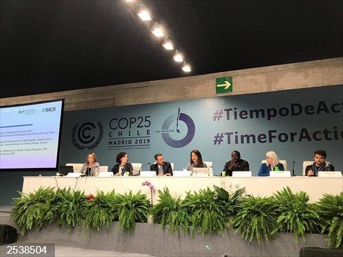 COP25.- El Govern presentará el 17 de enero su hoja de ruta ante la emergencia climática