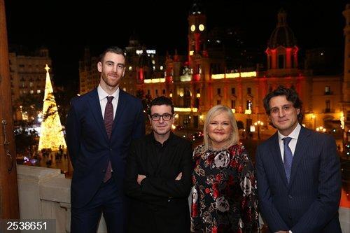 Valencia.- Víctor Claver, Ricard Camarena y el IVI, IV Premios Ateneo Mercantil