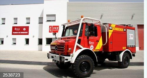 Granada.- Sucesos.- Dos heridos en Baza tras una deflagración por un escape de gas en una casa