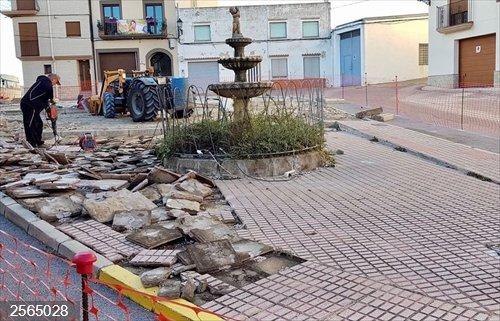 Castellón.- Critican que el Ayuntamiento de Cervera del Maestre planee reurbanizar una plaza con dos oliveras milenarias