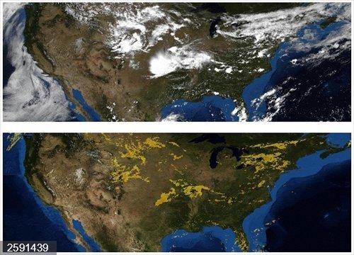 Google utiliza el aprendizaje automático para hacer un pronóstico del tiempo a partir de imágenes de radar