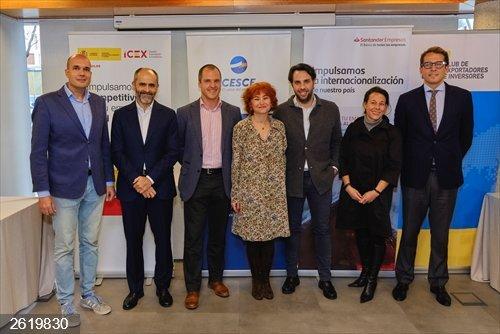 Economía.- Cesce, Banco Santander e ICEX apuestan por impulsar la internacionalización de las empresas digitalizadas