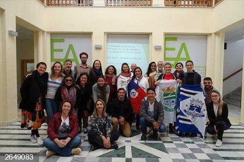 Granada.- Profesionales de salud de Brasil se forman en la Escuela Andaluza de Salud Pública