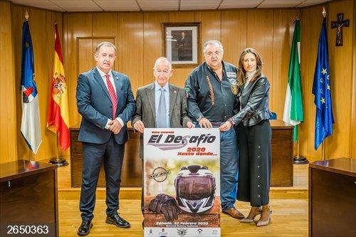 SaboresAlmería.-Diputación apoya la IX edición de la ruta invernal 'El Desafío' con más de mil moteros