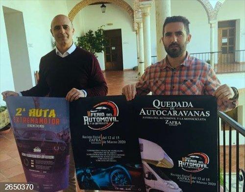 Zafra celebrará del 12 al 15 de marzo la II Feria del Automóvil, que incluye una quedada de autocaravanas