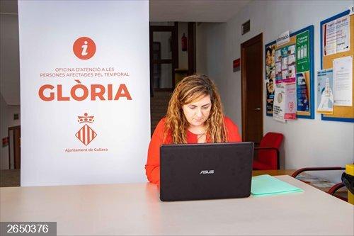 Valencia.- Cullera abre un punto de información sobre las ayudas por el temporal Gloria