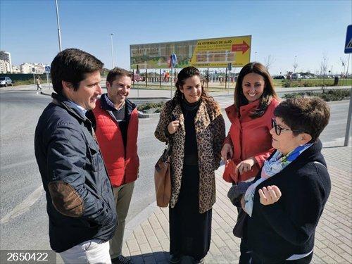 Huelva.- Cs traslada a los vecinos de Pescadería que la adjudicación del nuevo colegio estará antes de verano