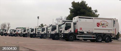 S.S. de los Reyes.- Ayuntamiento incorpora diez nuevos vehículos de recogida de residuos para mejorar la eficiencia
