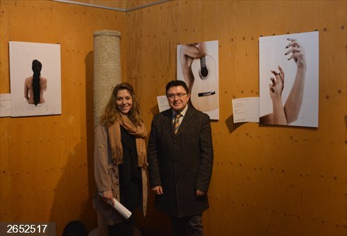 La exposición de fotografía 'Más allá de la piel' de Ana Córdoba se exhibe en las Cuevas de Hércules de Toledo