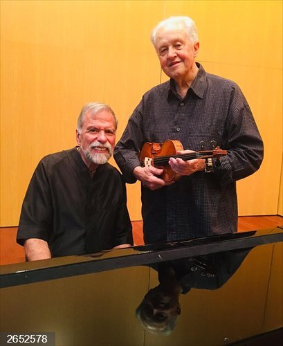 El violinista Nicolás Chumachenco y el pianista Josep Colom ofrecerán mañana un concierto en el Liceo de Salamanca