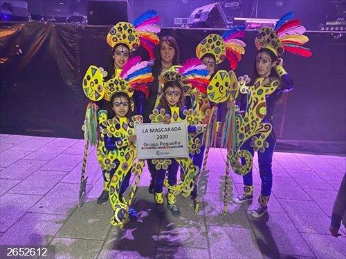 Noja.- 'Flamencos norteños' gana La Mascarada y 'Sois basura' se lleva el Premio Especial