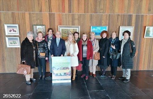 Baluarte acoge una exposición 'Pintores solidarios' en favor de la Asociación Española Contra el Cáncer en Navarra