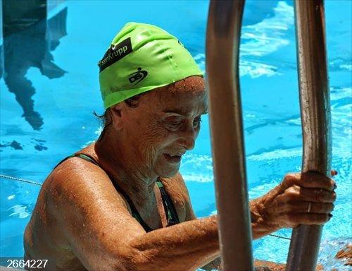 Natación.- Fallece Amparo Martínez Díaz-Flores, una institución de la natación máster en España