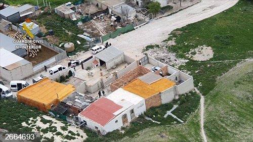 Sevilla.- Sucesos.- Detenidos tres vecinos de Estepa por traficar con cocaína, heroína y marihuana