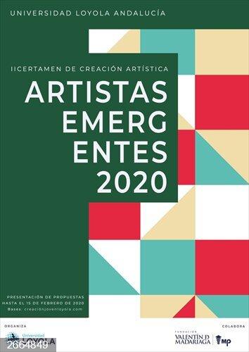 Casi 80 propuestas de toda España se presentan al II Certamen de Creación Artistas Emergentes de Loyola Andalucía