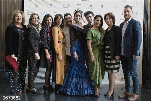 Granada.- Más de 3.000 personas asisten a la Pasarela Flamenca Granada en el Centro Lorca de la capital