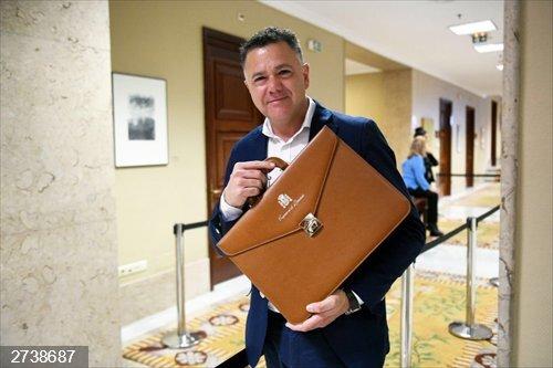 Juan Antonio Delgado, ex diputado de Podemos, nuevo asesor en el equipo de Marlaska en Interior