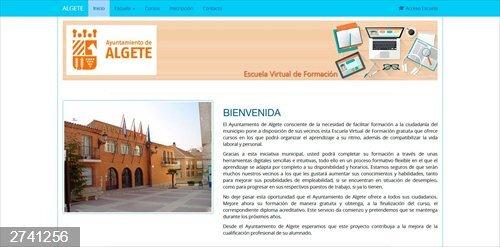 Coronavirus.- El Ayuntamiento de Algete pone en marcha la Escuela de Formación Virtual
