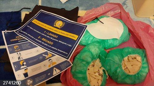 Coronavirus.- Voluntarios de Algete coserán mascarillas para los profesionales del municipio