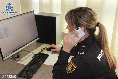 Coronavirus.- Zaragoza.- La Policía Nacional refuerza su labor con los mayores y colectivos vulnerables