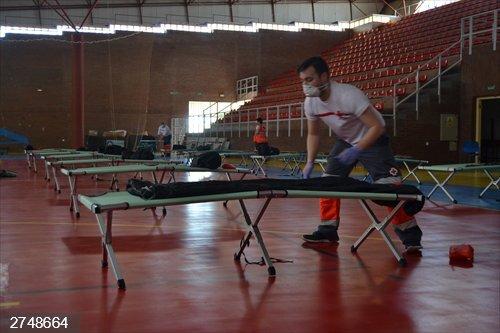 Coronavirus.- Cruz Roja habilita un albergue en Don Benito para atender a personas sin hogar que gestionará Cáritas