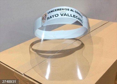 Fútbol.- El Rayo Vallecano fabrica 12.000 máscaras protectoras y su afición recauda 33.000 euros para material sanitario