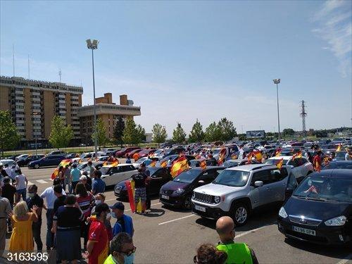 Vox Huesca celebra la participación en la caravana y dice que