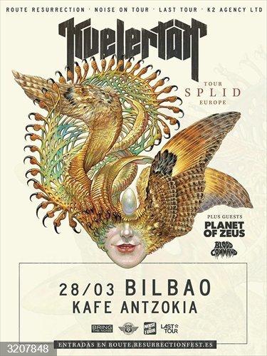 Los noruegos Kvelertak actuarán el 28 de marzo de 2021 en el Kafe Antzokia de Bilbao