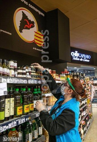 El gasto de los españoles en alimentación se disparó un 28,4% durante el estado de alarma