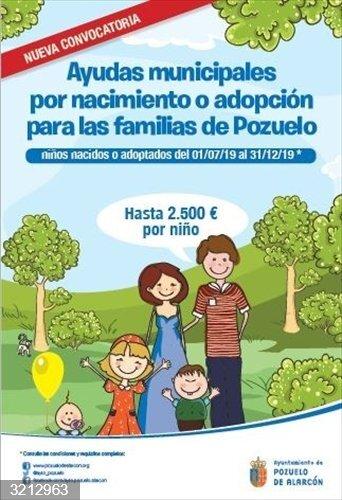 Pozuelo.- El Ayuntamiento cierra el plazo de solicitudes para las ayudas por nacimiento y adopción