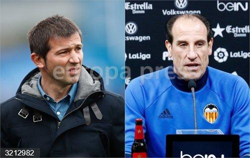 Fútbol.- El Valencia destituye a Albert Celades y Voro coge de nuevo al equipo