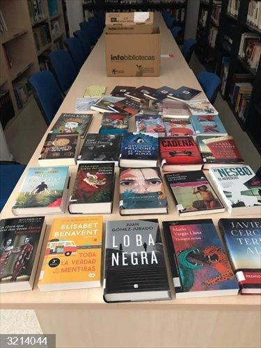Las bibliotecas municipales y agencias de lectura pacenses comienzan a recibir cerca de 10.000 libros y audiovisuales