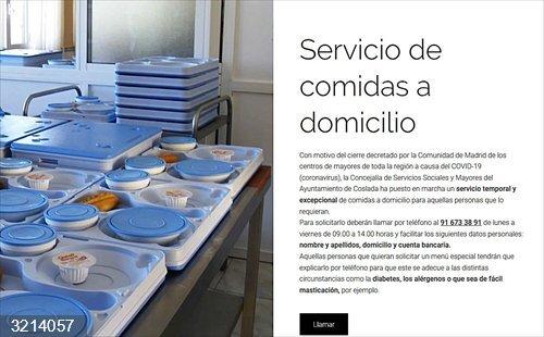 Cvirus.- La web de información sobre coronavirus del Ayuntamiento de Coslada ha recibido cerca de 80.000 visitas