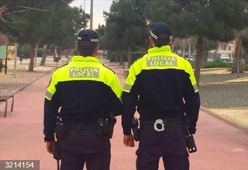 Sucesos.- Policía Local y Guardia Civil detienen a cuatro personas por dos presuntos robos en Las Torres de Cotillas