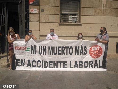 Almería.-UGT y CCOO advierten que la falta de actividad por el Covid-19