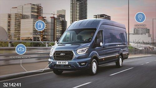 Economía/Motor.- Ford ofrece el módem FordPass en sus vehículos comerciales