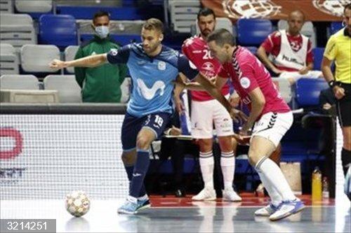 Page felicita al Viña Albali Valdepeñas por haber hecho historia en el fútbol sala español pese al empate final