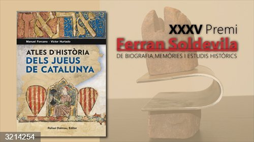 Manuel Forcano y Víctor Hurtado, Premi Ferran Soldevila por su 'Atles d'història dels jueus'