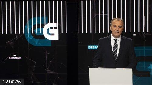12J.- La TVG emite a las 10,00 horas de este miércoles los debates provinciales entre las siete principales fuerzas
