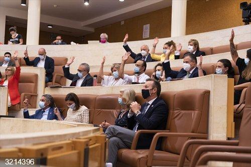 Debate.- Aprobadas un centenar de propuestas de resolución, muchas para la Cantabria post-COVID