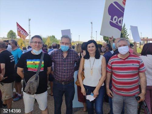 Lasobras (CHA) reclama en Andorra (Teruel)